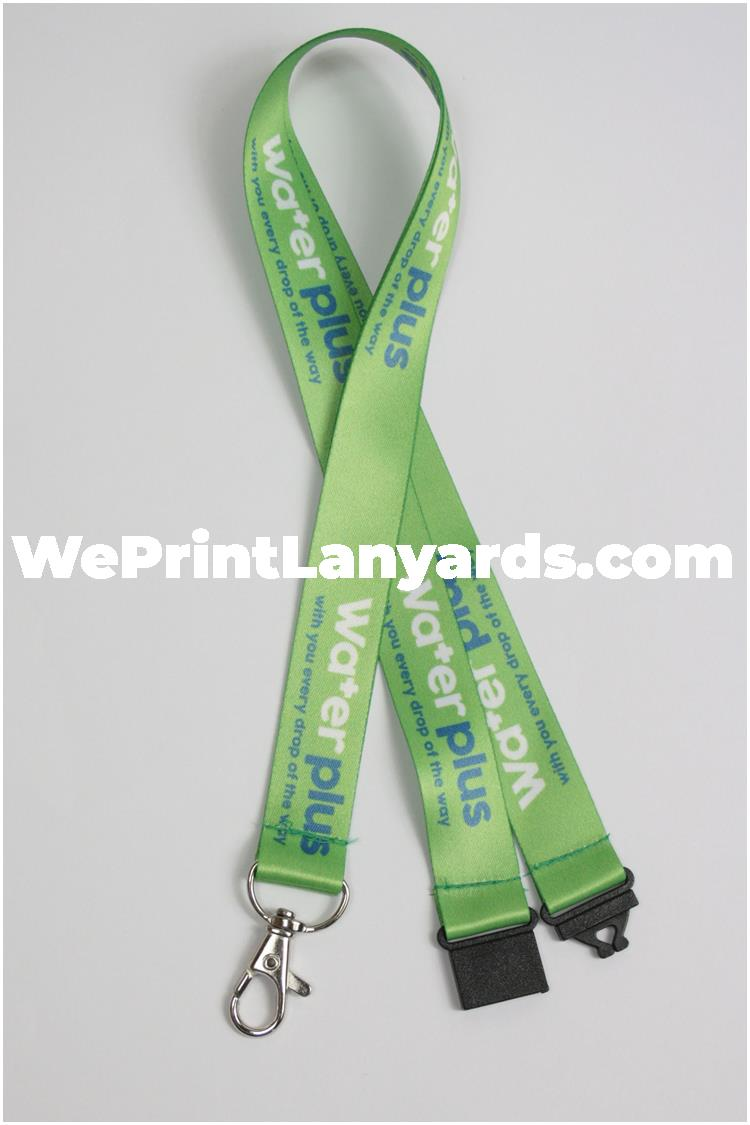 Custom printed facilities management lanyards