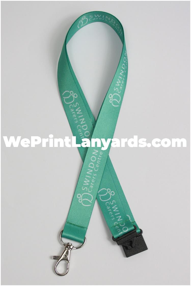 Custom printed medical carers lanyard
