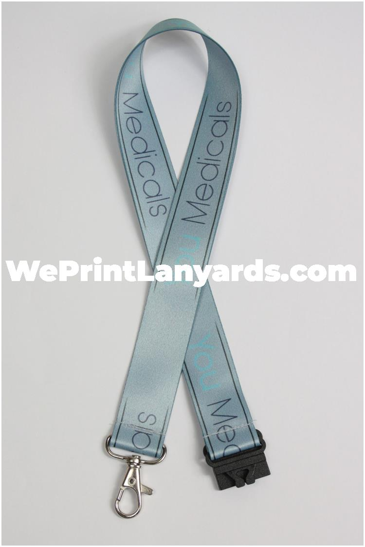 Personalised lanyard for medical staff