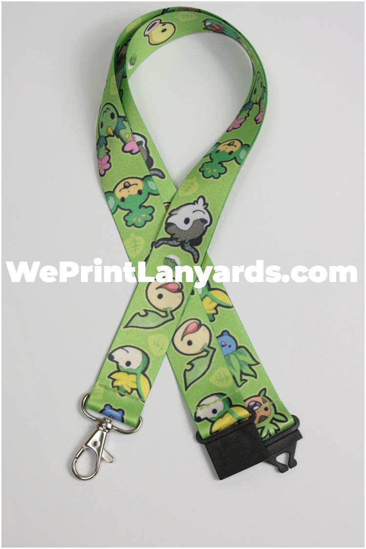 Full colour fun funky cool childrens lanyard