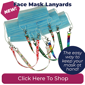 Patterned Stock Lanyards