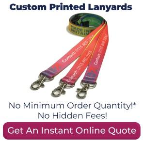 Custom Printed Lanyards UK